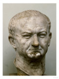 Emperor Vespasian (69-79 CE)  Marble Head from Ostia  Italy