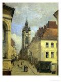 Le Beffroi De Douai  1871