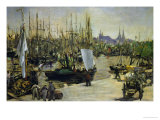 The Harbour of Bordeaux  1871
