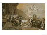 The Oath of the Army after the Distribution of the Eagles on the Champs De Mars