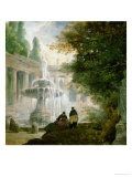Park with Fountain  1762-1765