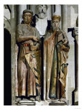 Count Ekkehard and Countess Uta  Donor Figures from the West Choir  13th Century