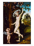 Cupid Complaining to Venus  Around 1525