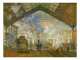 La Gare Saint Lazare  1877