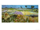 The Plain at Auvers, c.1890 Giclée par Vincent Van Gogh