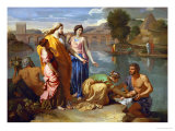 Moses Saved from the Floods of the Nile by the Pharaoh&#39;s Daughter