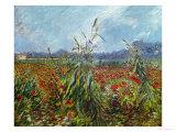 Field with Poppies Giclée par Vincent Van Gogh
