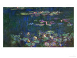 Waterlilies  Green Reflections  1914-1918