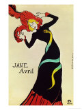 Dancer Jane Avril  Poster