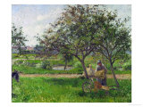 Barrow in the Orchard  circa 1881