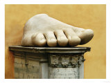 Marble Hand from Colossal Figure of Emperor Constantine the Great (306-337 CE)