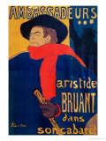 Aristide Bruant  Singer and Composer  at Les Ambassadeurs on the Champs Elysees  Paris  1892