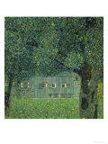 Upper Austrian Farmhouse, 1914 Giclée par Gustav Klimt