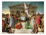 Homer's Apotheosis  1827
