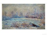 Hoar-Frost Near Vetheuil  1880