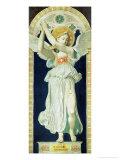 Carton: Saint Raphael  Archangel  1842