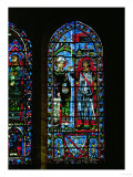 Stained Glass Window from the South Transept of Chartres Cathedral