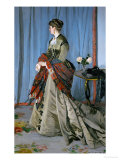 Mme Louis Joachim Gaudibert (1846-1877)  Wife of a Businessman from Le Havre  1868