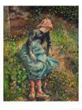Jeune Fille a La Baguette Ou La Bergere  1881