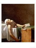 Assassination of Jean-Paul Marat in His Bath  1793