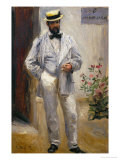 Charles Le Coeur  Architect and Friend of the Painter  1874