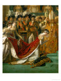 Coronation of Napoleon in Notre-Dame De Paris by Pope Pius VII  December 2  1804