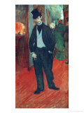 Gabriel Tapie De Celeyran in a Theater Corridor  1893-1894