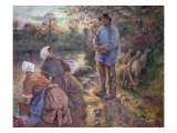 Shepherd and Washerwomen  1881