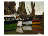 Fishing Boats  Honfleur  1866