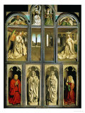 The Ghent Altar  Polyptych with the Adoration of the Lamb  1432