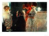 Schubert at the Piano, 1899 Giclée par Gustav Klimt