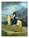 Equestrian Portrait of Maria Teresa De Vallabriga