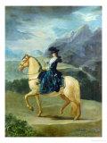 Equestrian Portrait of Maria Teresa De Vallabriga