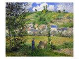 Landscape at Chaponville  1880