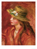 Young Woman with Hat  circa 1908