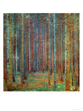 Forêt de pins, 1902 Reproduction d'art par Gustav Klimt