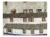 Old Houses (Krumlov  Bohemia)  1917