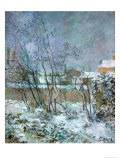 Snow in the Rue Carcel  1883