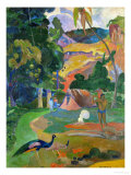 Matamoe (Peacocks in the Country)  1892