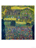 Country House on Attersee Lake, Upper Austria, 1914 Giclée par Gustav Klimt