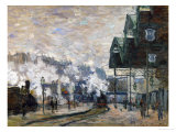 Gare St Lazare  the Western Docks  1877