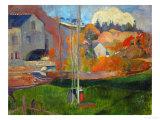 The David Mill  Brittany Landscape  1894