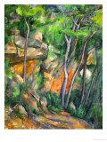 In the Park at Chateau Noir, 1898-1900 Giclée par Paul Cézanne