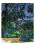 Blue Landscape, 1904-1906 Giclée par Paul Cézanne