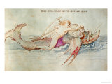 The Greek Poet Arion Riding the Dolphin  Around 1515  Watercolour on Paper