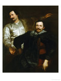 Portraits of the Painters Lucas and Cornelis De Wael