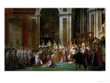 Coronation of Napoleon in Notre-Dame  Paris  by Pope Pius VII