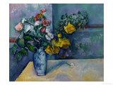 Still Life: Flowers in a Vase Giclée par Paul Cézanne
