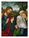 Christ&#39;s Farewell to the Holy Women  circa 1520