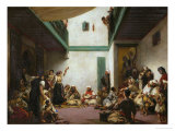A Jewish Wedding in Morocco  1839